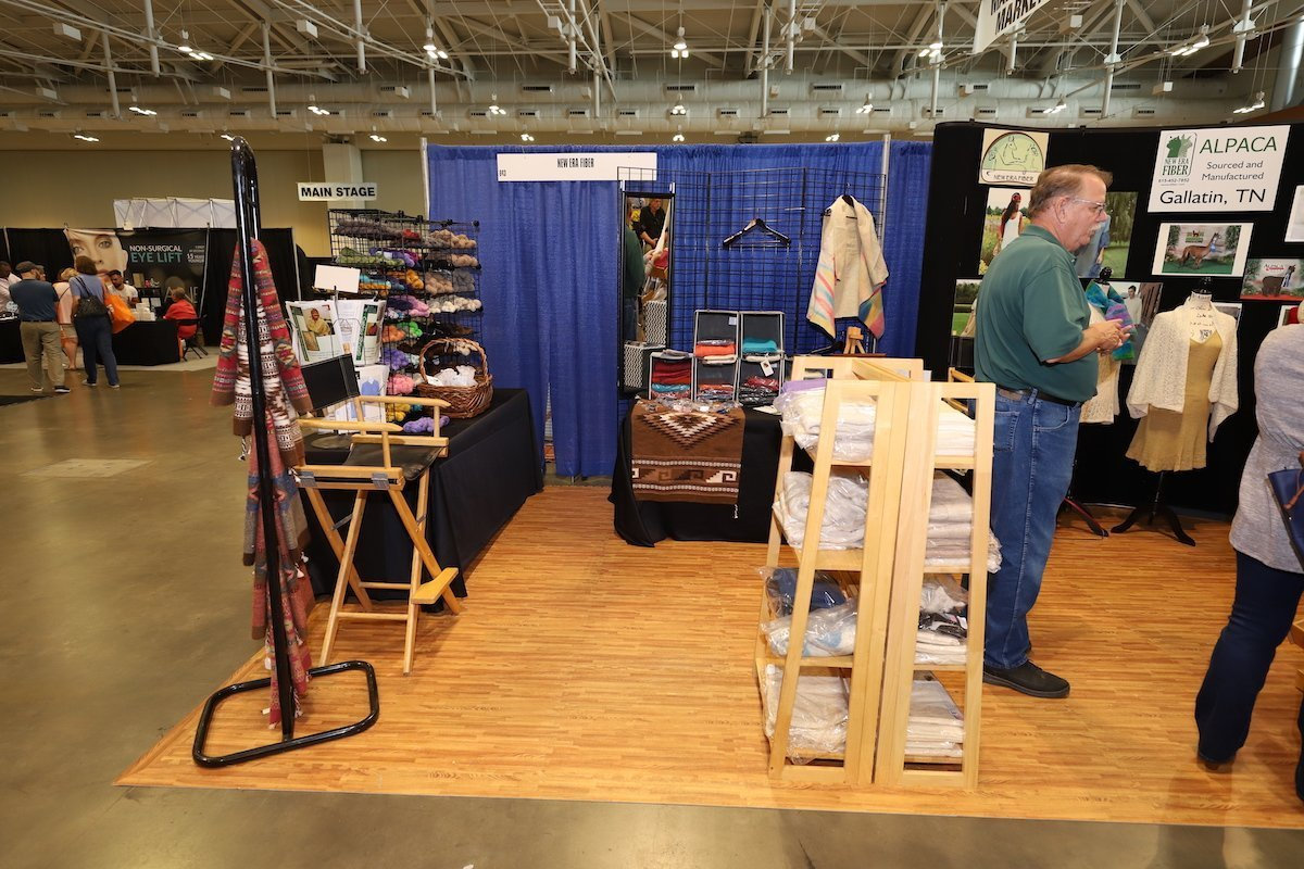 Booth Set Up Example